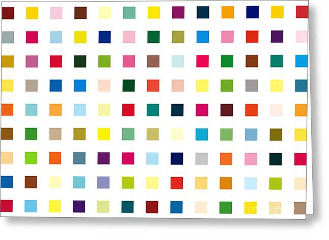 Hirst Greeting Cards - Lysergic Acid Diethylamide Greeting Card by Max Requenes