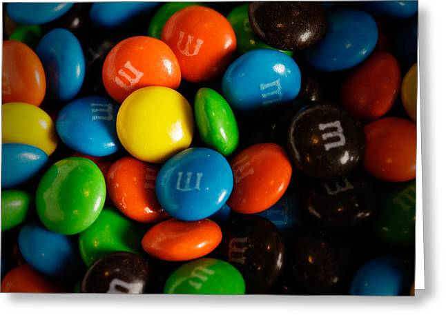 Ms Greeting Cards - M and Ms Greeting Card by Rick Berk