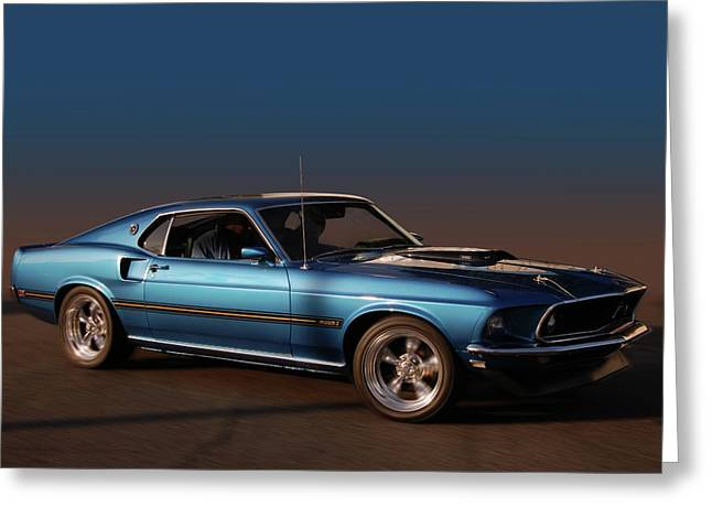 Slammer Greeting Cards - Mach 1 Greeting Card by Bill Dutting