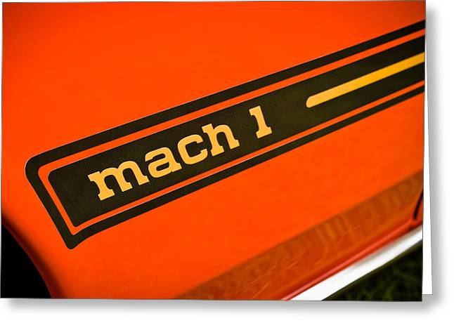 Phil Motography Clark Greeting Cards - Mach 1 Greeting Card by Phil