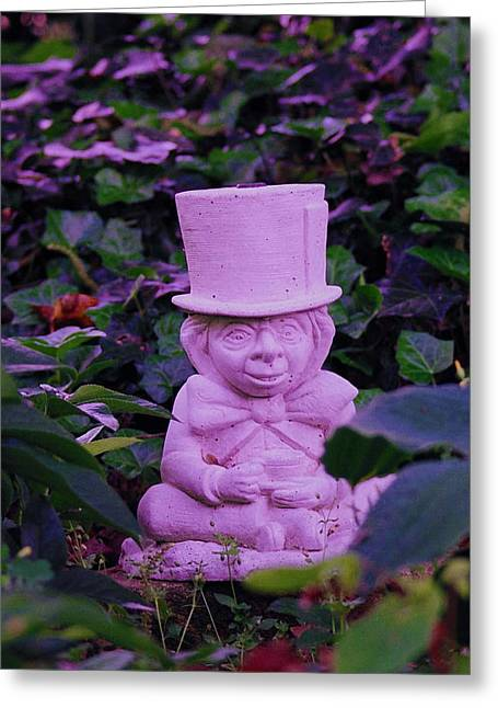 Mad Hatter Photographs Greeting Cards - Mad Hatter Greeting Card by Debi Ling