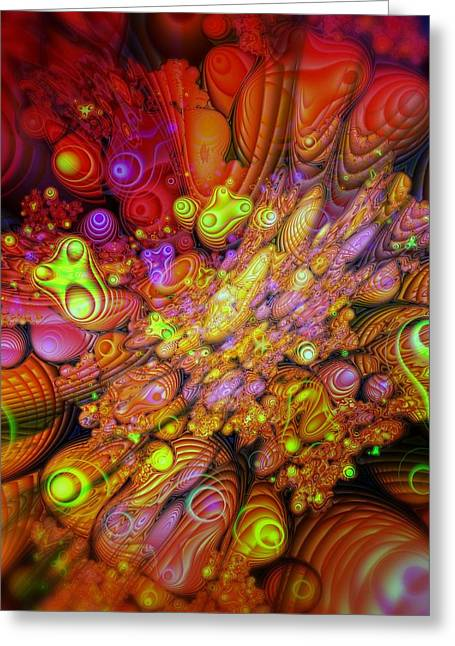 Maelstrom Of Emotion Greeting Card by Mimulux patricia no