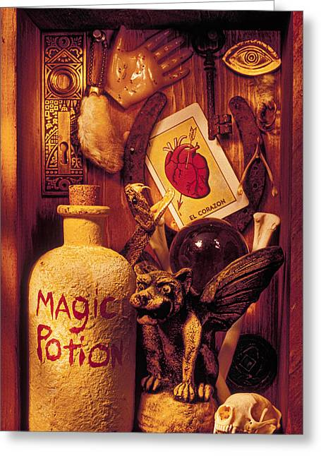 Magic Photographs Greeting Cards - Magic Things Greeting Card by Garry Gay