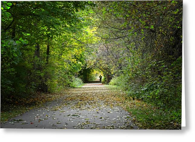Rockford Greeting Cards - Magic Tunnel Greeting Card by Jeanne Quinn
