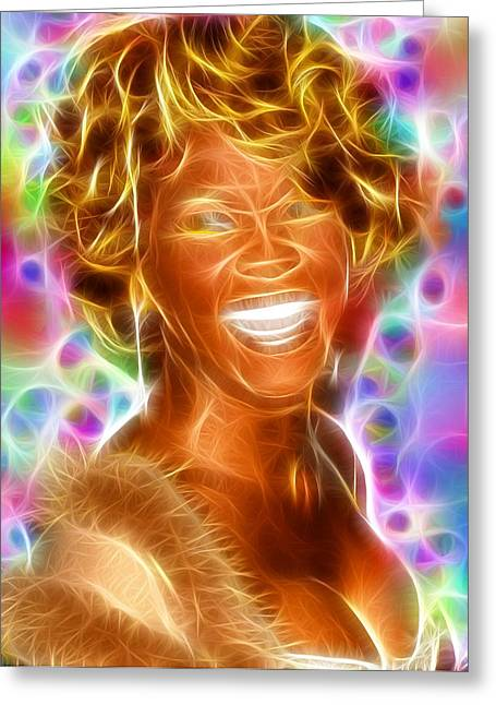 Magical Whitney Greeting Card by Paul Van Scott