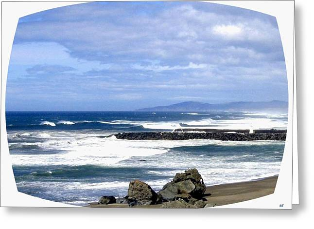 Magnificent Sea Greeting Card by Will Borden