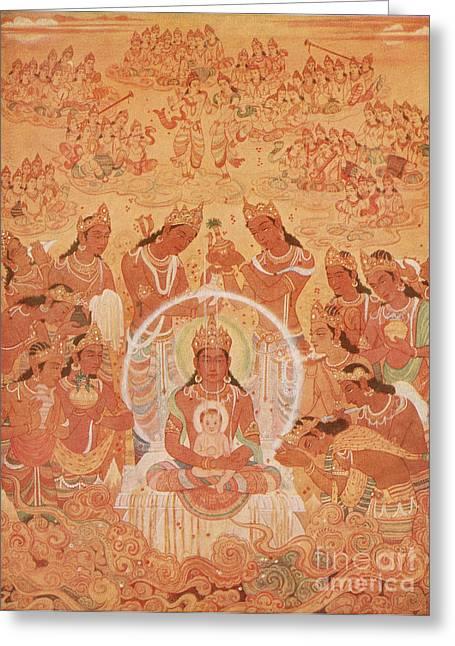 Jainism Greeting Cards - Mahavira Greeting Card by Photo Researchers