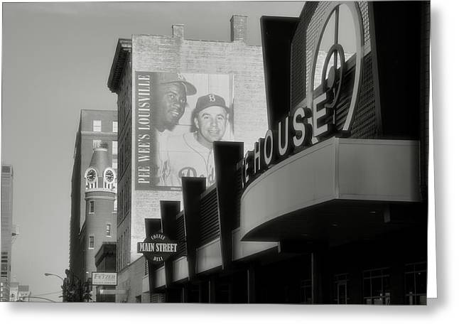 Historical Acrylic Prints Greeting Cards - Main Street View II Greeting Card by Steven Ainsworth