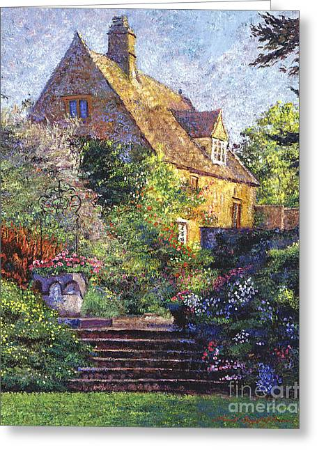 Stones Greeting Cards - Majestic Impressions Greeting Card by David Lloyd Glover