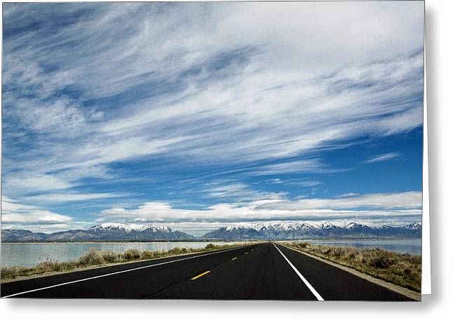 Scenic Drive Greeting Cards - Majestic Sky Greeting Card by Marilyn Hunt