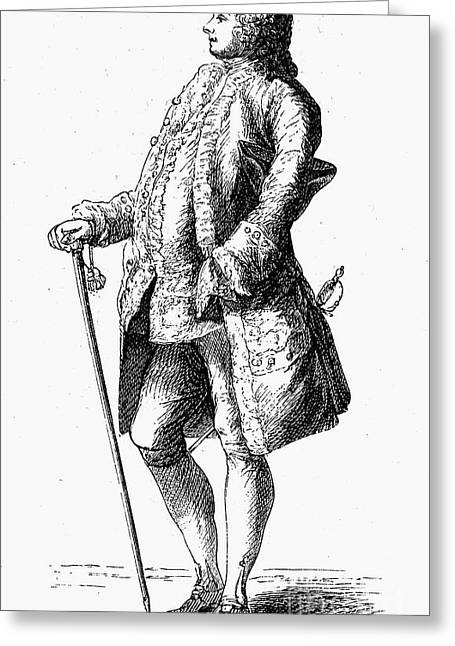 Major, 18th Century Greeting Card by Granger