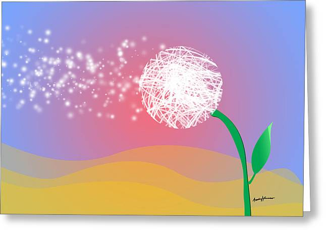 Make A Wish Greeting Card by Anthony Caruso