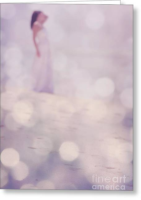 Spa Center Greeting Cards - Make Your Dream Come True Greeting Card by Jenny Rainbow