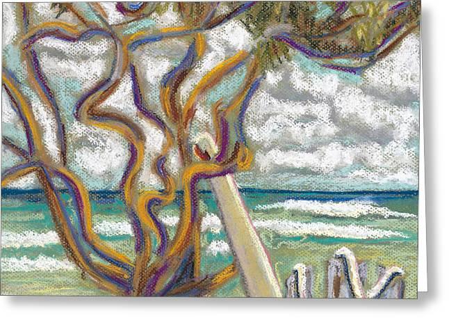 Malaekahana Tree Greeting Card by Patti Bruce - Printscapes