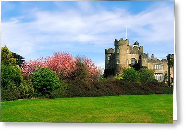 Garden Statuary Greeting Cards - Malahide Castle, Co Dublin, Ireland Greeting Card by The Irish Image Collection