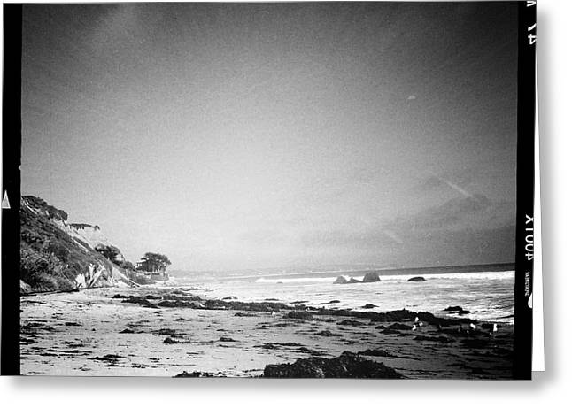 California Beach Art Greeting Cards - Malibu Peace and Tranquility Greeting Card by Nina Prommer