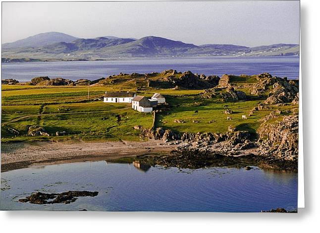The Houses Greeting Cards - Malin Head, Co Donegal, Ireland Most Greeting Card by The Irish Image Collection