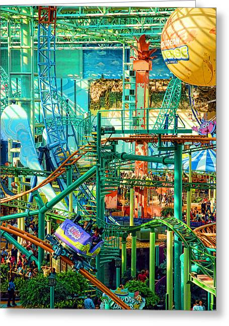 Indoor Greeting Cards - Mall Of America Greeting Card by Rich Beer