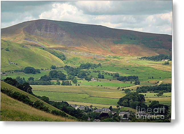 Mam Tor Greeting Cards - Mam Tor - Derbyshire Greeting Card by Graham Taylor