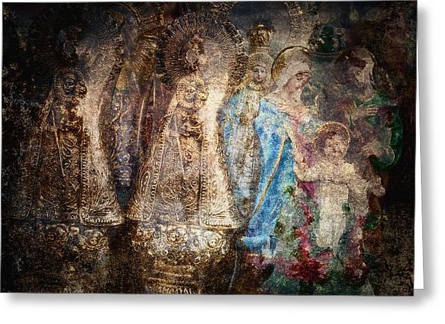 Baby Jesus Greeting Cards - Manaoag Greeting Card by Skip Nall