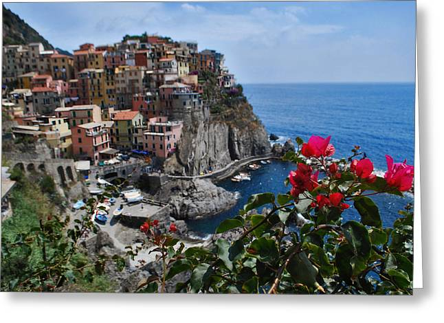 Jeka World Photography Greeting Cards - Manarola Itlay Greeting Card by Jeff Rose