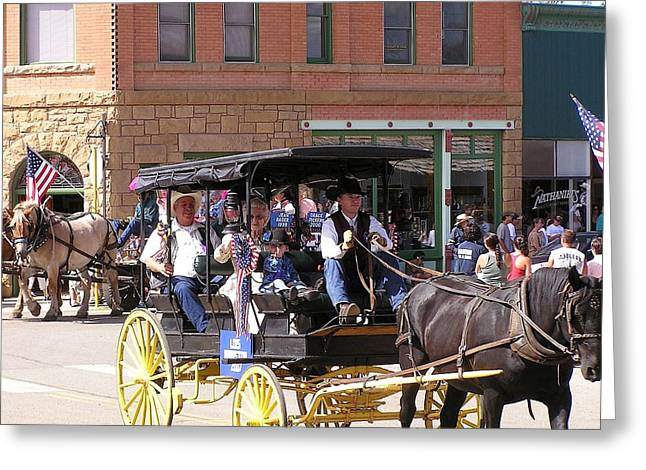 Mancos Greeting Cards - Mancos Days Pioneer Queen Greeting Card by FeVa  Fotos