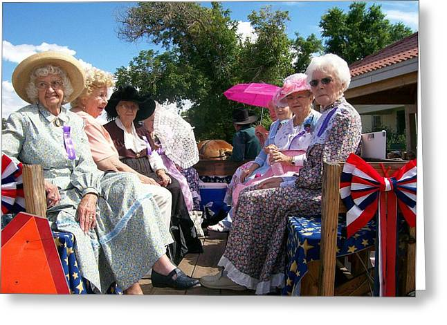 Mancos Greeting Cards - Mancos Pioneer Queens Greeting Card by FeVa  Fotos
