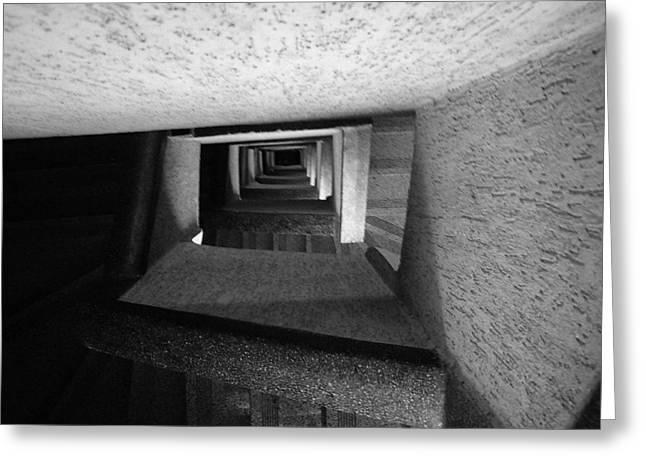 Flight Of Stairs Greeting Cards - Mandala Ladder. Greeting Card by Hiji H