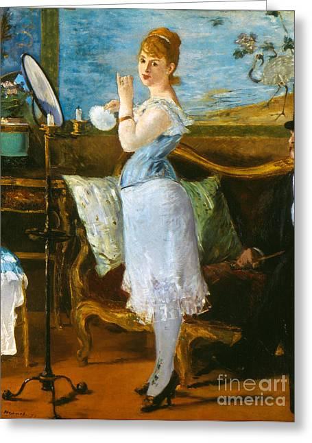Nana Greeting Cards - Manet: Nana, 1877 Greeting Card by Granger