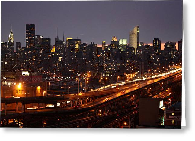 N.y. Greeting Cards - Manhattan- 2 Greeting Card by Mark Ashkenazi
