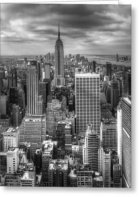 Manhattan01 Greeting Card by Svetlana Sewell