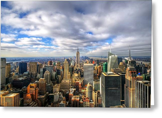 Manhattan05 Greeting Card by Svetlana Sewell