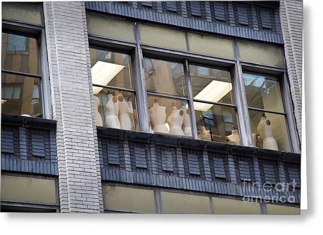 Gathering Greeting Cards - Mannequin-Union Greeting Card by Fred Lassmann