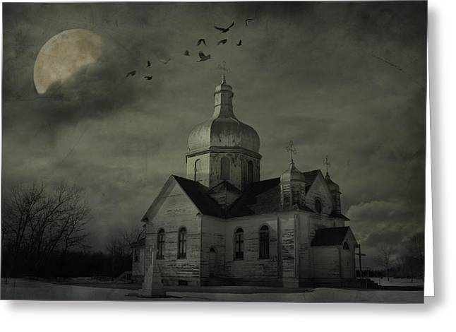 Canadian Photographer Greeting Cards - Mannerisms Of Midnight  Greeting Card by Jerry Cordeiro