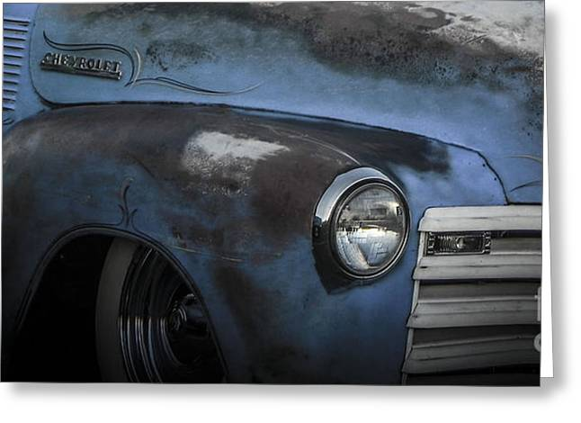 Tricked-out Cars Greeting Cards - Many Miles Greeting Card by Chuck Re