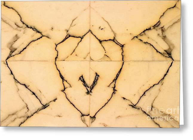 Ventura California Greeting Cards - Marble Face Greeting Card by Henrik Lehnerer