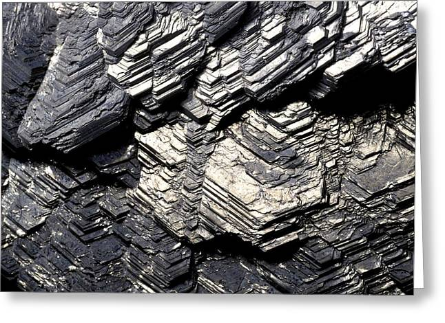 Marcasite Mineral Greeting Card by Dirk Wiersma