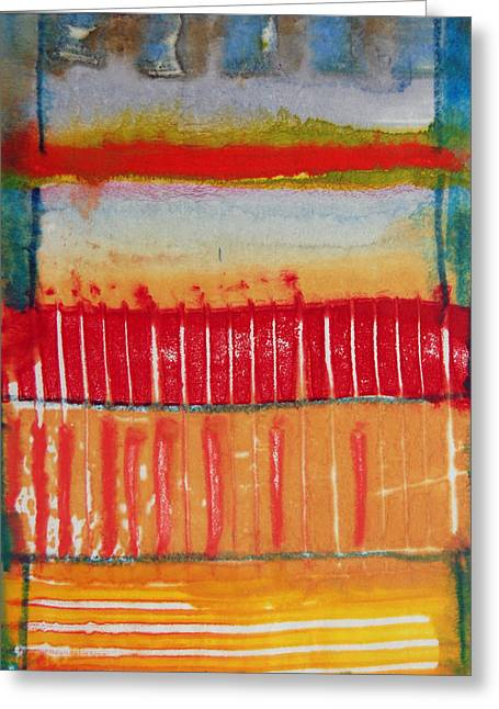 Strategy Mixed Media Greeting Cards - Marching Out Greeting Card by Jorge Luis Bernal