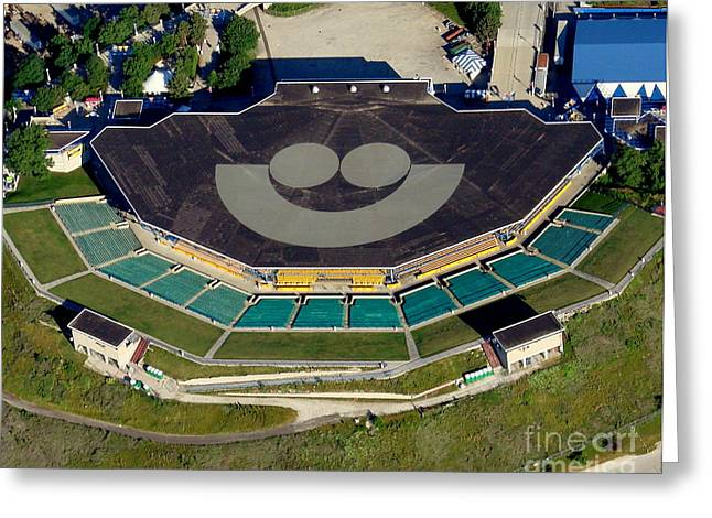 Bill Lang Greeting Cards - M-018 Marcus Amphitheater Milwaukee Wisconsin Greeting Card by Bill Lang