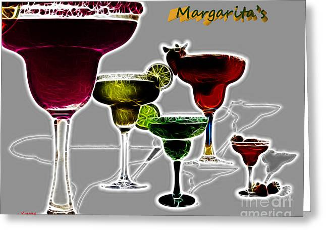 Margarita S Greeting Card by Cheryl Young
