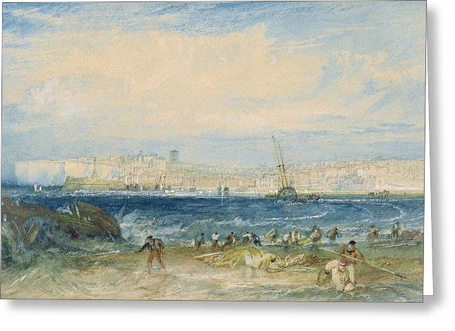 Margate Greeting Card by Joseph Mallord William Turner