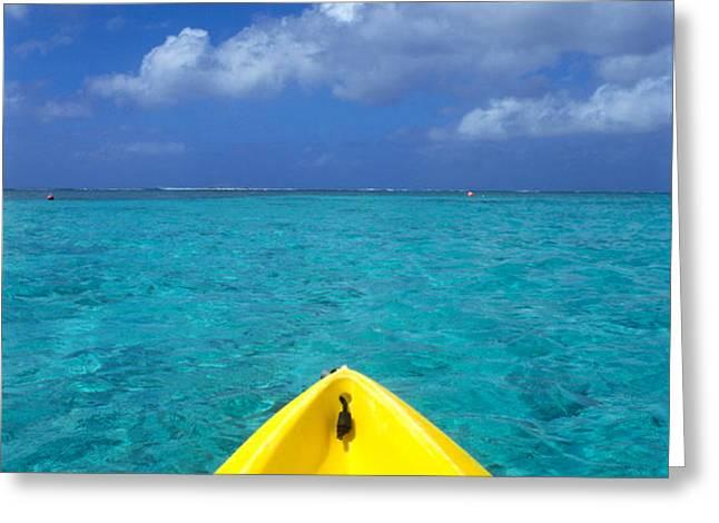 Mariana Islands, Saipan Greeting Card by Greg Vaughn - Printscapes