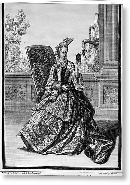 Duchess Greeting Cards - Marie Adelaide Of Savoy Greeting Card by Granger