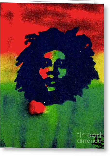 Civil Rights Greeting Cards - Marley Greeting Card by Tony B Conscious