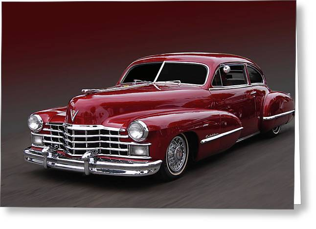 Cruisin For A Cure Greeting Cards - Maroonglow Greeting Card by Bill Dutting
