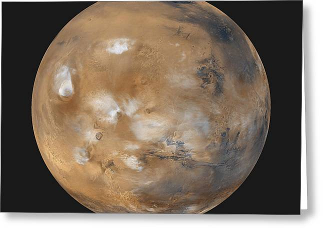 Moc Greeting Cards - Mars Greeting Card by NASA / Science Source