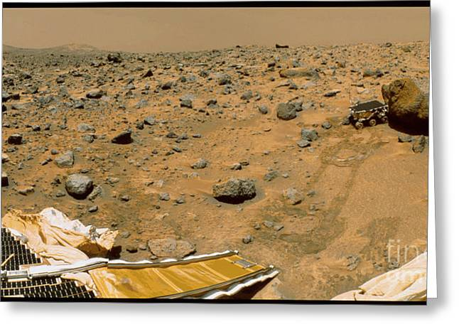 Pathfinder Greeting Cards - Mars Rover Greeting Card by NASA / Science Source