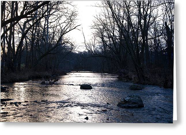 Marshes Digital Greeting Cards - Marsh Creek Gettysburg Pa Greeting Card by Bill Cannon