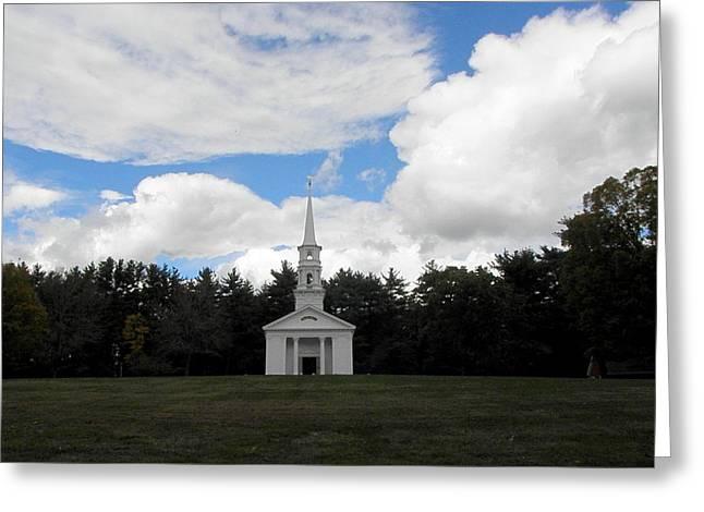 Martha Mary Chapel Greeting Cards - Martha Mary Chapel  Greeting Card by Kim Galluzzo Wozniak