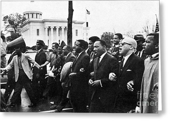 Reformer Photographs Greeting Cards - Martin Luther King, Jr Greeting Card by Granger
